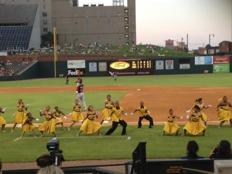Elvis Week 2012 @ Redbirds Game