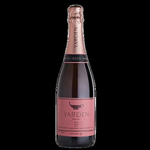 Yarden Brut Rosé sparkling wine