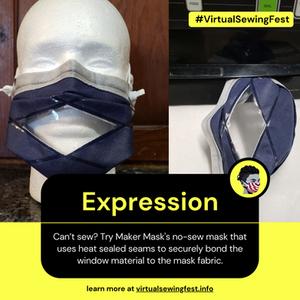 Expression Mask (The Maker Mask)