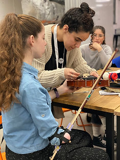The girl, named Yael from Petah Tikvah, was born without her left arm, leaving her unable to fulfill her long-harboured desire to play the musical instrument.