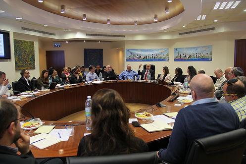 מפגש 3 מצומצם של חברי קואליציית ישראל כמדינת הלאום של העם היהודי