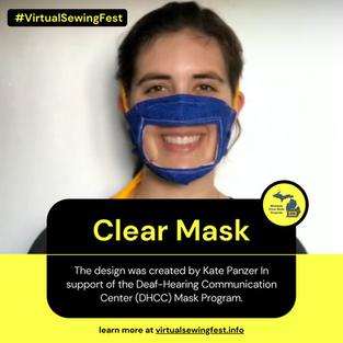 Clear Mask (Michigan Mask Program)