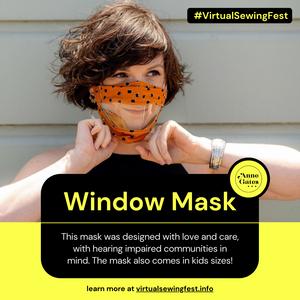 Window Mask (Anne Gates x Something Labs