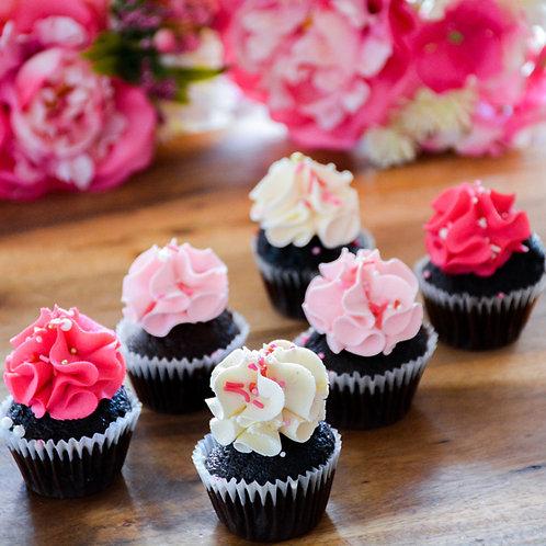 100 Mini Cupcakes