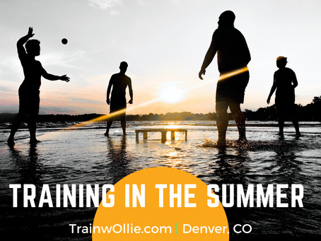 Tips for Training in the Summer Heat