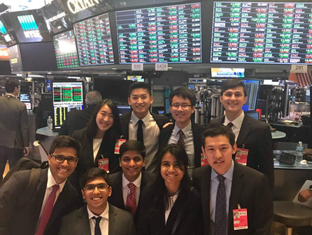 NYSE Trading Floor Visit