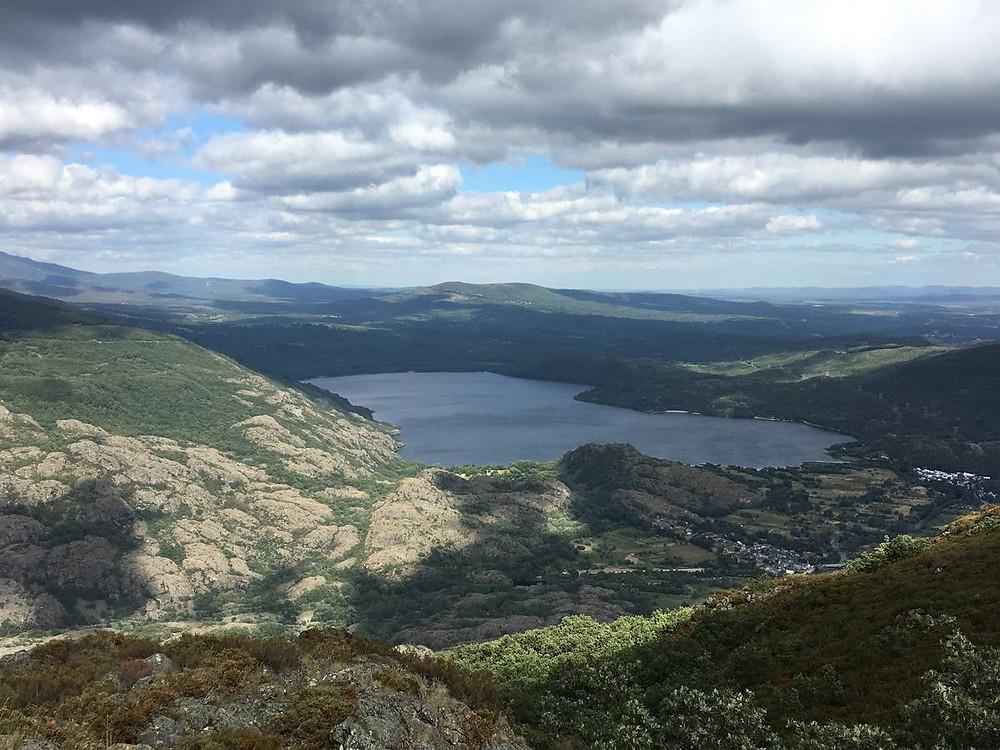 Lago de Sanabria desde el Pico Fraile.