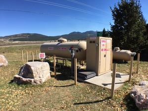We sell propane!