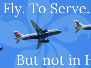 British Airways Bumbles HKEXIT