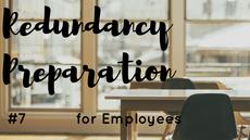 Redundancy Preparation: Money, Money, Money
