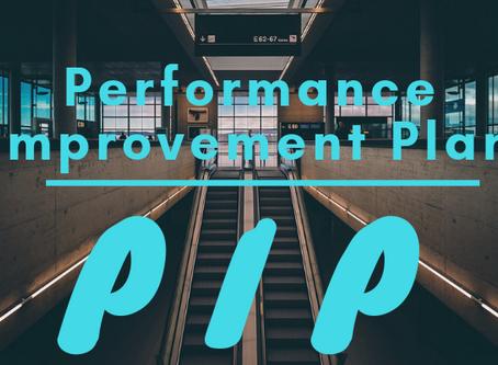 Performance Improvement Plan (PIP): The Basics