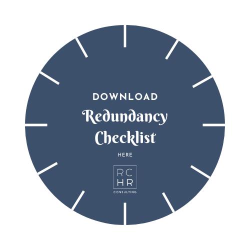 Redundancy checklist to take into your redundancy meeting
