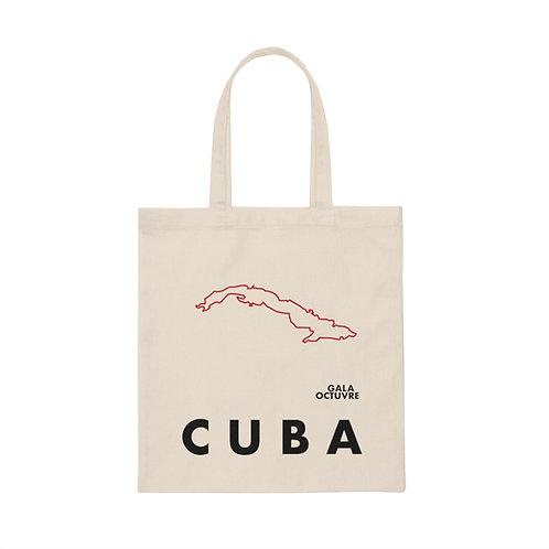 Cuba Isla Tote Bag Red