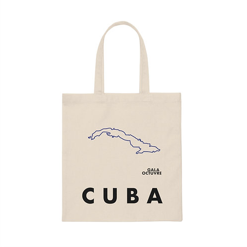 Cuba Isla Tote Bag Blue