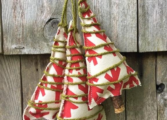 Salmon Barn Tree Ornament