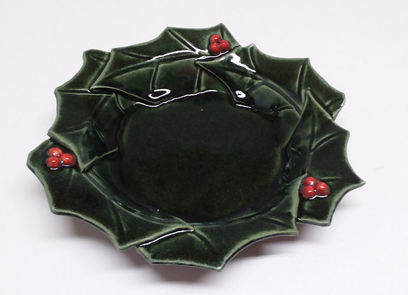 Large Holly Bowl by Pat