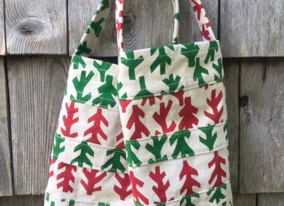 Salmon Barn Holiday Wine Tote