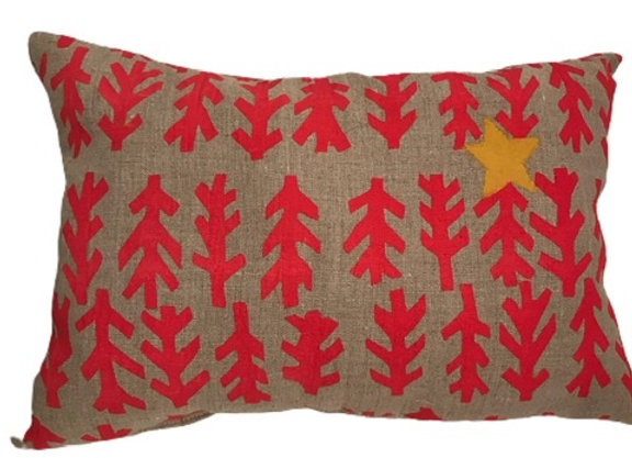 Holiday Pillow by Salmon Barn