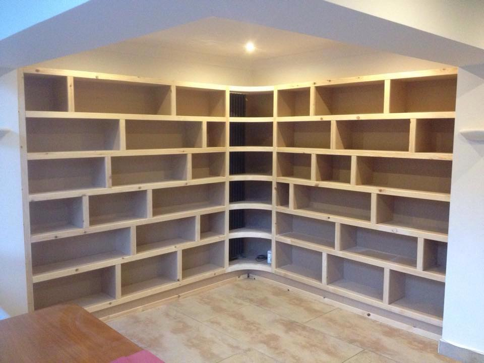 Longstaffs corner Bookcase
