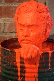 Man in bucket