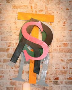 Letters STORY för the walls of Story Hotel Sundbyberg