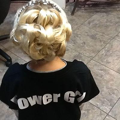 Hair:Designed by Melissa Burns