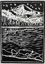 7 - Mountains by The Lake - Martine Mahoudeau