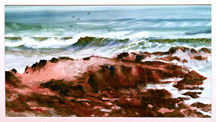 Pescadero Wave-Jeanne Wardrip