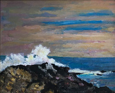 1-Surf 2, Pescadero, CA- Lois Brown
