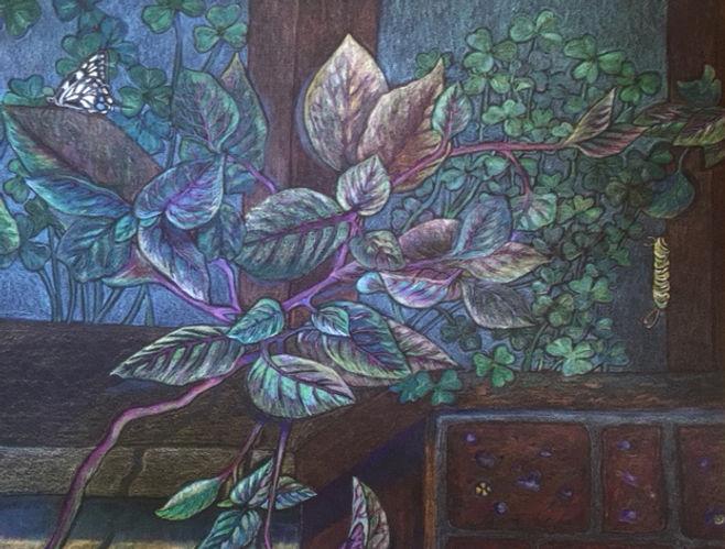 Caterpillar #2 - Lynnette Ben-Sushan-Veg