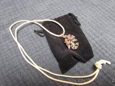 22 - Bronze Pinecone Pendant - Dan Geraci