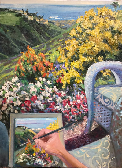 Painting Blooms Park Canyon