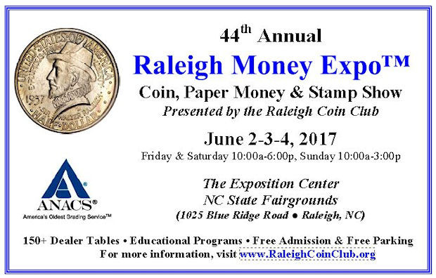 Raleigh 44th Annual Money Expo
