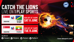 National Games in Singapore from 8th to 11th June