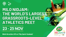 Live on 1 Play Sports: MILO NIDJAM set to host 4500 athletes from 494 districts in India.