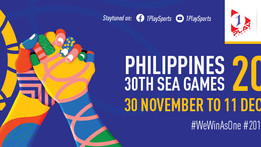 Watch Live on 1 Play Sports!   Selected sports from Southeast Asian Games 2019, Philippines