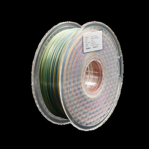 MPLA Rainbow Kingfisher - 1.75mm, 1kg Spool Silk 3D Filament