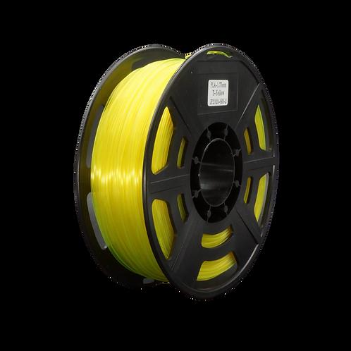 PLA Transparent Yellow - 1.75mm, 1kg Spool 3D Filament