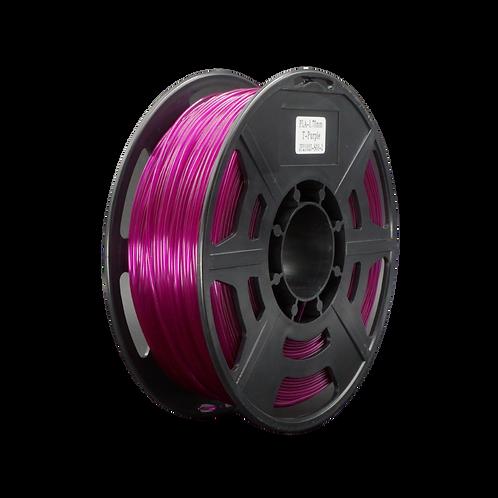 PLA Transparent Purple - 1.75mm, 1kg Spool 3D Filament