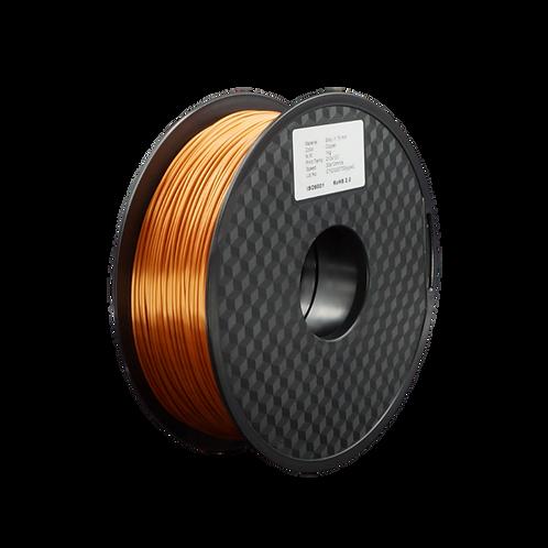 MPLA Copper - 1.75mm, 1kg Spool Silk 3D Filament