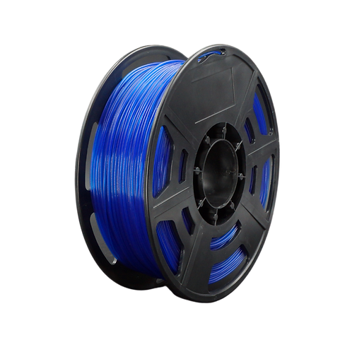 PLA Transparent Blue - 1.75mm, 1kg Spool 3D Filament