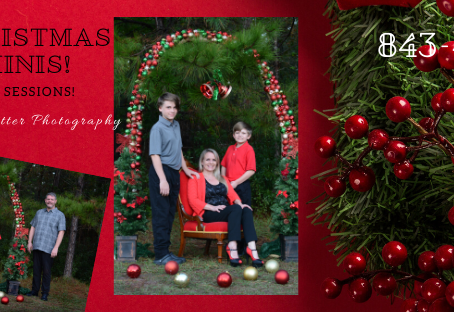 Christmas Mini-Sessions for 2019 Have Been Announced!