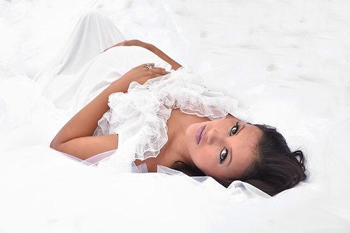 Rental: White Tulle Dress