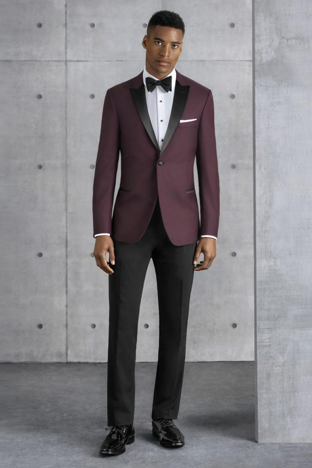 Burgundy Empire Kenneth Cole