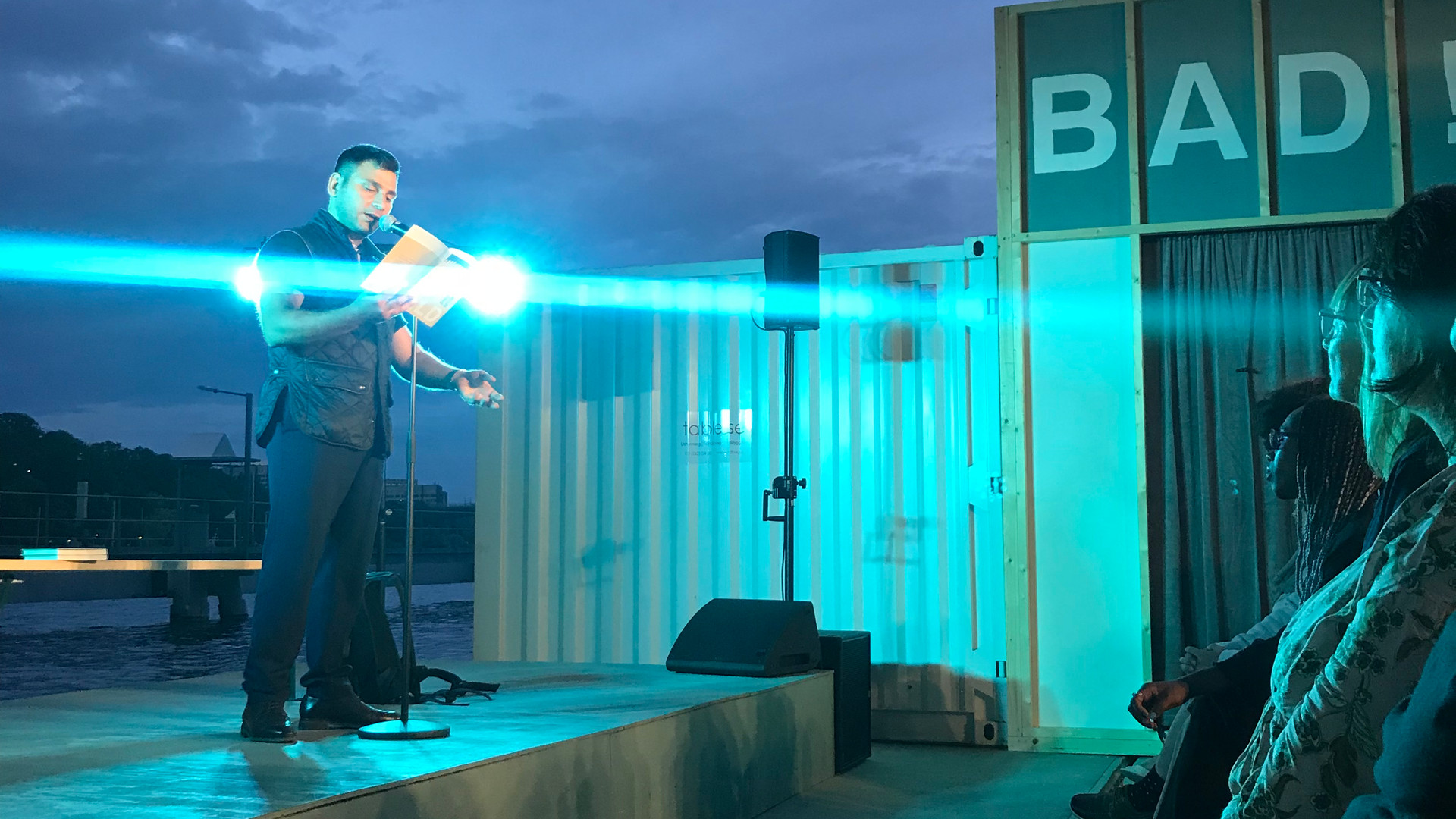 På scen: Daniel Boyacioglu