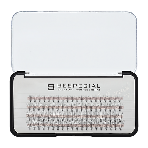 Накладные ресницы в пучках изгиб 10D микс (4линии)