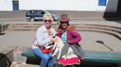 Nancy DeCarlo in Peru