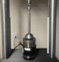 Typical Compression Test Set-up per ASTM F2077