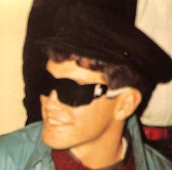 Kevin Bianchi wearig shades