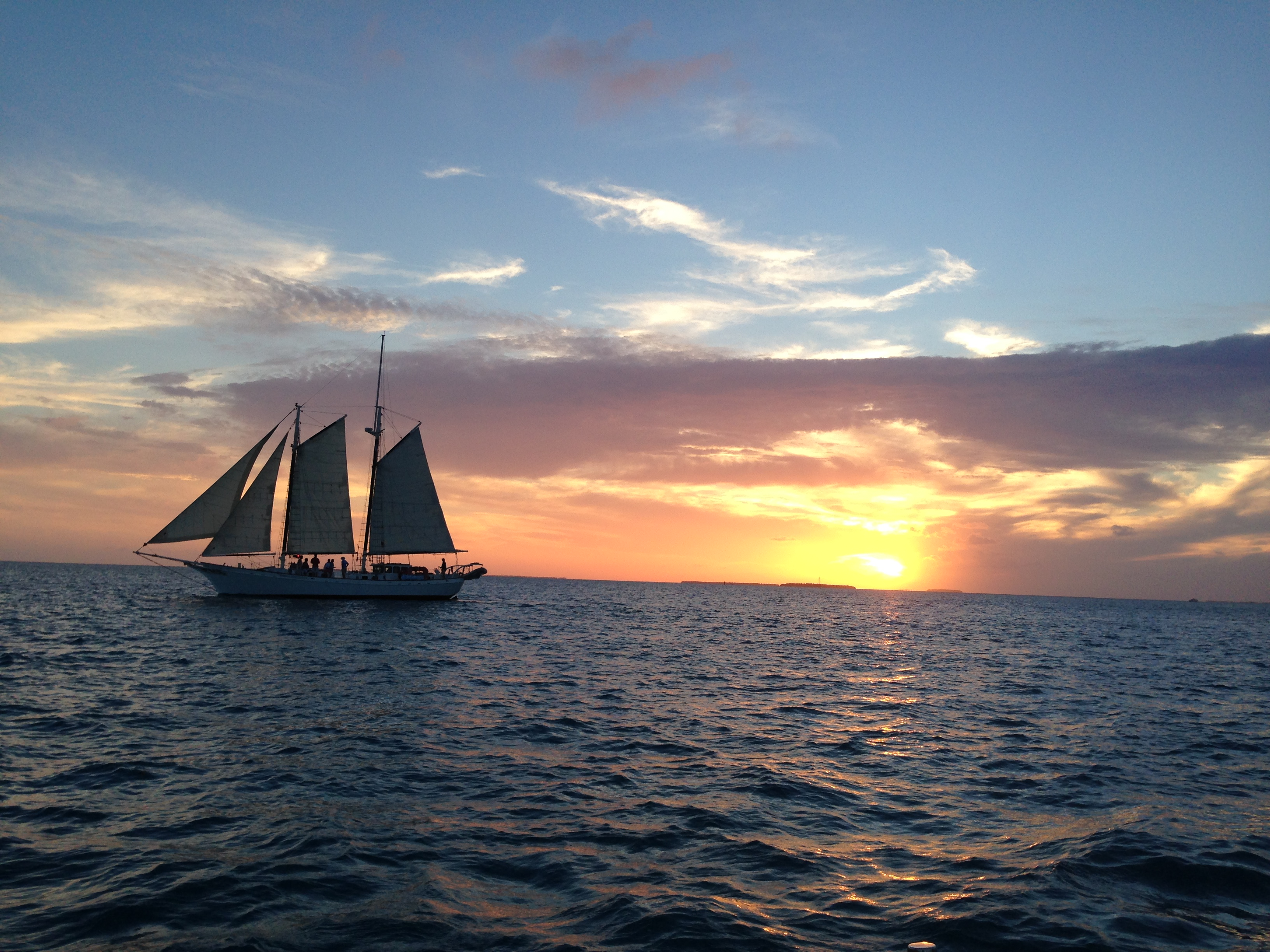 Sunset Cruise, Key West, Fl